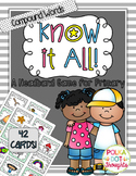 Know-it-All Headband Game {Compound Words Edition}