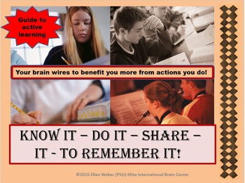 Know it - Do it - Share it - to Remember It!