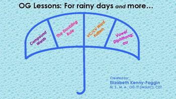 Know the Code: 1-4 OG Plans for a Rainy Day - Print & Go!