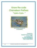 "Know the Code: Chameleon Prefixes - ""com- and con-"""