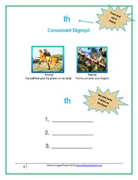 "Know the Code: Consonant Digraph: ""th"""