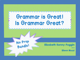 Know the Code:  Grammar is Great! Is Grammar Great?