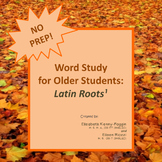 Word Study - Know the Code: Latin Roots Bundle!