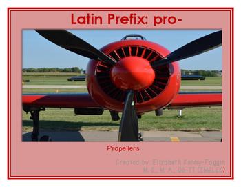 Know the Code: Latin prefix pro-