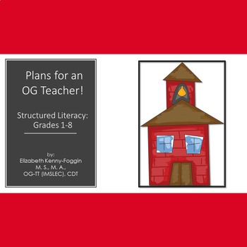 Know the Code: OG  Structured Language Literacy Plans  for Coverages-Copy & Go!