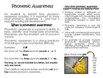 Know the Code: Phonemic Awareness Activities for Younger Students