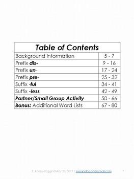 Know the Code:  Prefix/Suffix Five Pack -1
