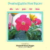 Know the Code:  Prefix/Suffix Five Pack Bundle # 1