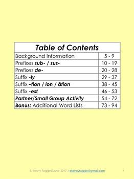 Know the Code:  Prefix/Suffix Five Pack-3