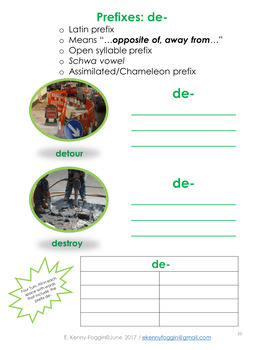 Know the Code:  Prefix/Suffix Five Pack #3