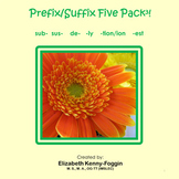 Know the Code:  Prefix/Suffix Five Pack Bundle #3