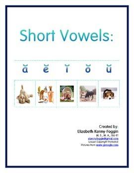 Know the Code: Short Vowel Sounds Bundle (a, e, i, o, u)