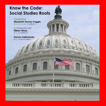 Know the Code: Social Studies Greek and Latin Roots
