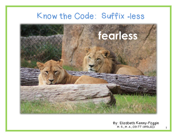 "Know the Code: Suffix ""-less"""