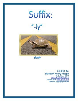 "Know  the Code: Suffixes-""-ly"""