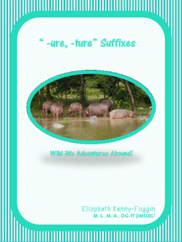 """Know the Code: Suffixes """"-ure and -ture"""""""