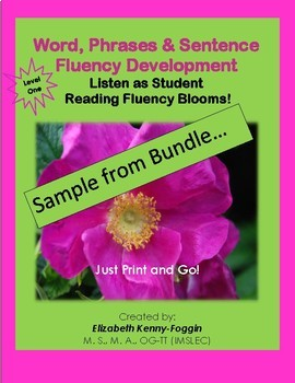 Know the Code: Words Lists, Phrases and Sentences for Reading Fluency - Sample