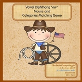 Know the Code: Nouns, Categories Matching Game and more...