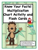 Know the Facts! Multiplication Chart Activity and Flash Cards