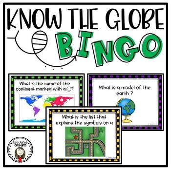 Know the Globe Bingo