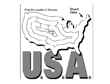 Know the States Drill Practice- Printable Worksheets