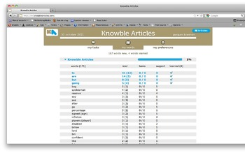 Knowble Articles - online language learning