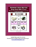 Knowing Jesus BINGO Game for Everyone - No Bingo Balls or