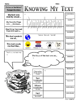 "Reading Comprehension-""Knowing My Text"""