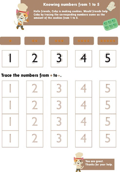Knowing Numbers 1-9 and 0