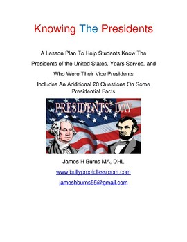 Knowing The Presidents