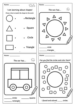 Knowing The Shapes: Book 1