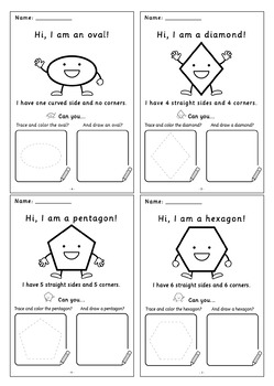 Knowing The Shapes: Book 2