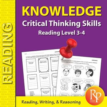 Knowledge: Critical Thinking Skills