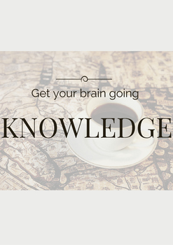 Knowledge-Get Your Brain Going (Poster)