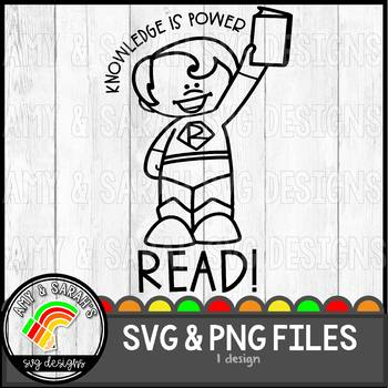 Knowledge Is Power SVG Design