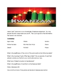Knowledge of Kwanzaa