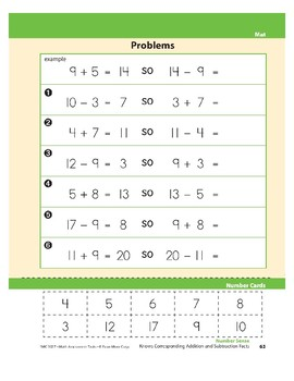 Knows Corresponding Addition and Subtraction Facts
