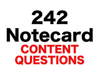Knucklehead: Tall Tales 242 Content Questions Whiteboard Game