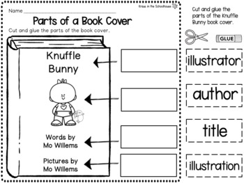 Knuffle Bunny - Mo Willems Book Study
