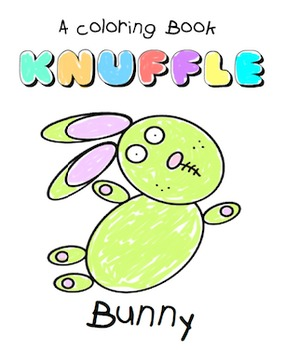 Knuffle Bunny - A Coloring Book