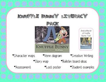 Knuffle Bunny Literacy Pack!
