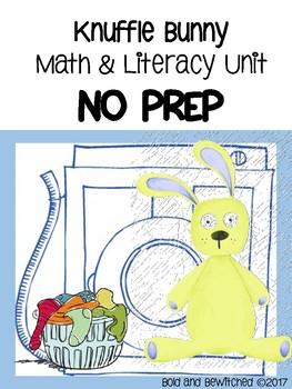 Knuffle Bunny NO Prep Math & Literacy