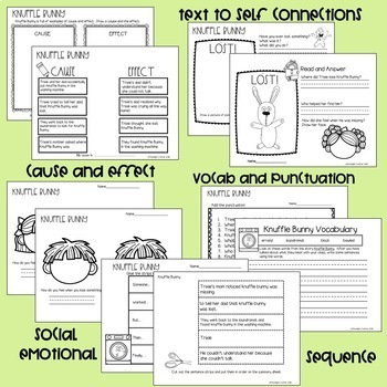 Knuffle Bunny SUPER BUNDLE Mo Willems Book Study