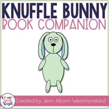 Knuffle Bunny Speech & Language Activities