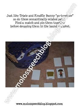 Knuffle Bunny Speech & Language Companion Pack