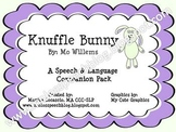 Knuffle Bunny Speech & Language Companion Pack