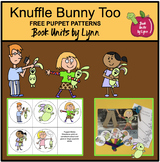Knuffle Bunny Too Free Puppet Sticks