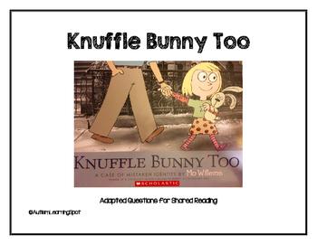 Knuffle Bunny Too Shared Reading