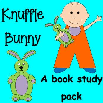 Knuffle Bunny book study unit and craftivity