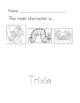 Knuffle Bunny worksheet pack